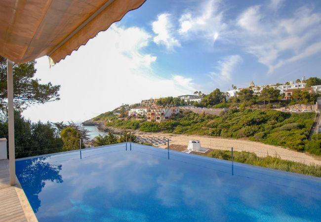 Villa Mandia Cala Mandia Porto Cristo mit spektakulärem Meerblick