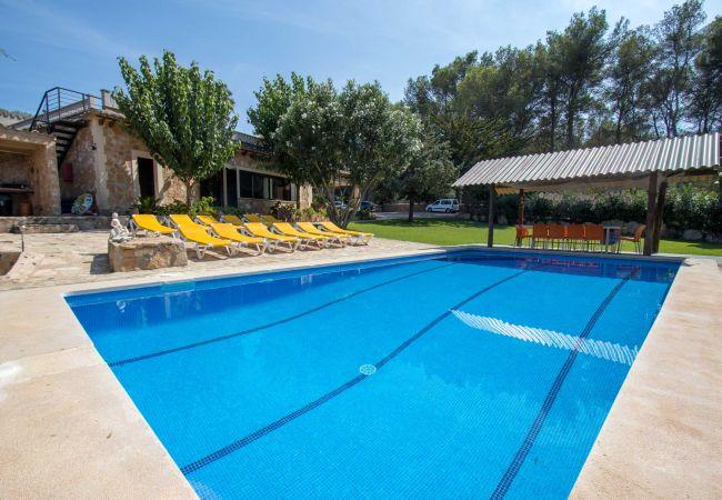 Ferien Finca El Bosque Las Palmeras großer Garten und Swimmingpool Privatsphäre