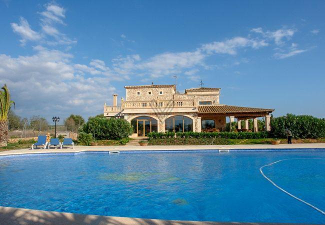Ferien Finca Na Pont Campos Pool von 200m2