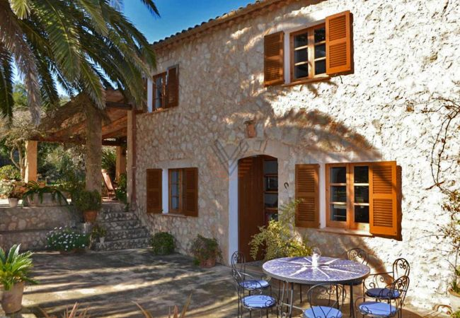 Finca Ses Pedres Manacor Mallorquinisches Haus komplett restauriert