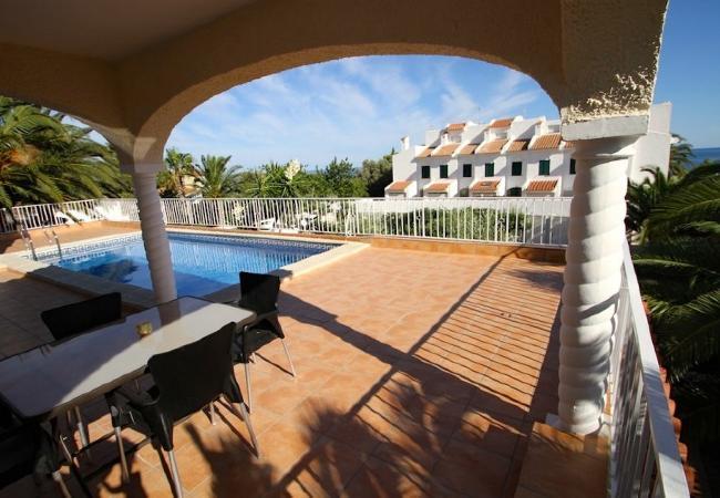 Holiday house B17 ROSA CRISTAL villa piscina privada grán jardín (2322949), Miami-Platja, Costa Dorada, Catalonia, Spain, picture 4
