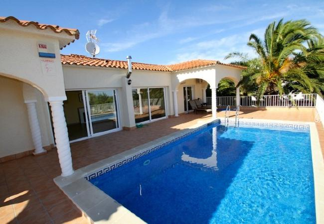 Holiday house B17 ROSA CRISTAL villa piscina privada grán jardín (2322949), Miami-Platja, Costa Dorada, Catalonia, Spain, picture 2