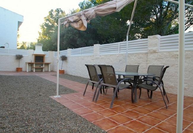 Holiday house B17 ROSA CRISTAL villa piscina privada grán jardín (2322949), Miami-Platja, Costa Dorada, Catalonia, Spain, picture 6
