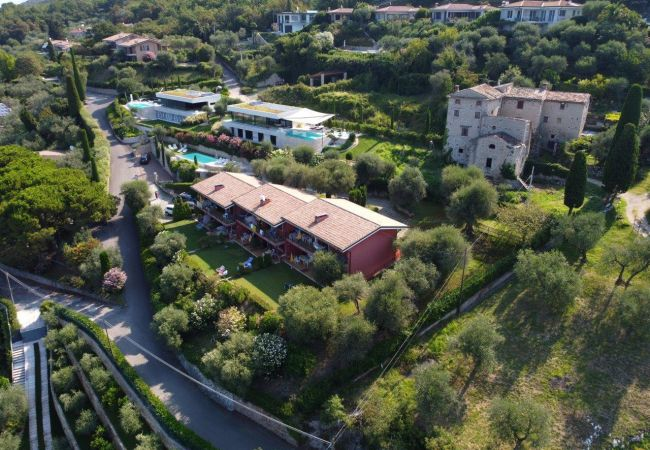 Gianni mit 3 Schlafzimmern, Balkon und Seeblick   Gardasee - Lago di Garda