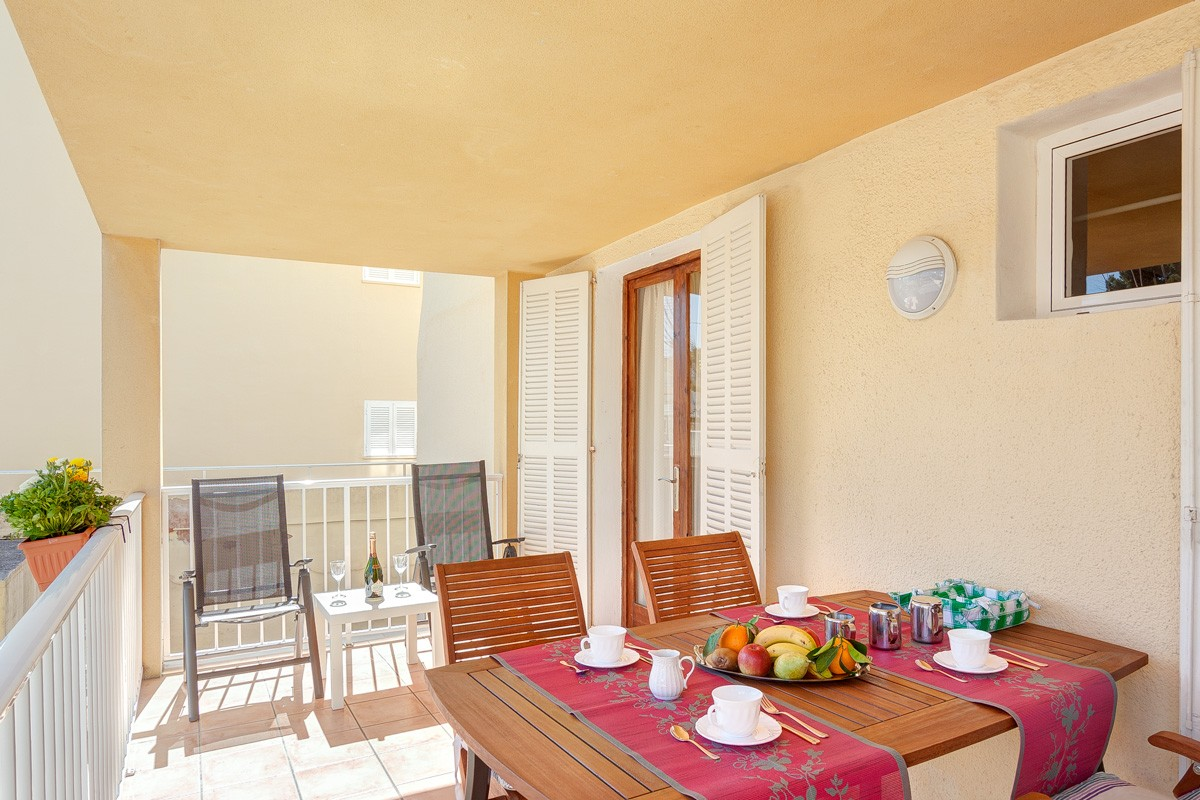 Blau for 4 guests in Port d Alcudia, Spanien