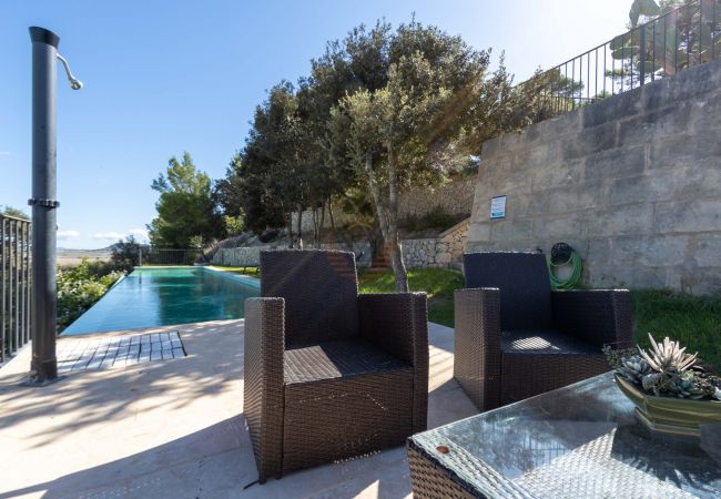 Maison de vacances Ferien Finca Sa Serra in Lloret de Vistalegre mit Panoramablick (1993006), Lloret de Vistalegre, Majorque, Iles Baléares, Espagne, image 4