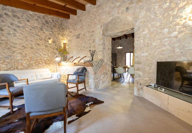 Maison de vacances Ferien Finca Sa Serra in Lloret de Vistalegre mit Panoramablick (1993006), Lloret de Vistalegre, Majorque, Iles Baléares, Espagne, image 14