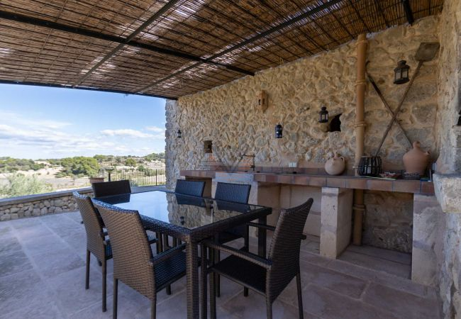 Maison de vacances Ferien Finca Sa Serra in Lloret de Vistalegre mit Panoramablick (1993006), Lloret de Vistalegre, Majorque, Iles Baléares, Espagne, image 37