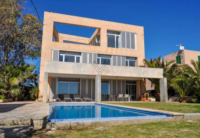 Ferien Luxus Villa Port Nou Costa de los Pinos strand