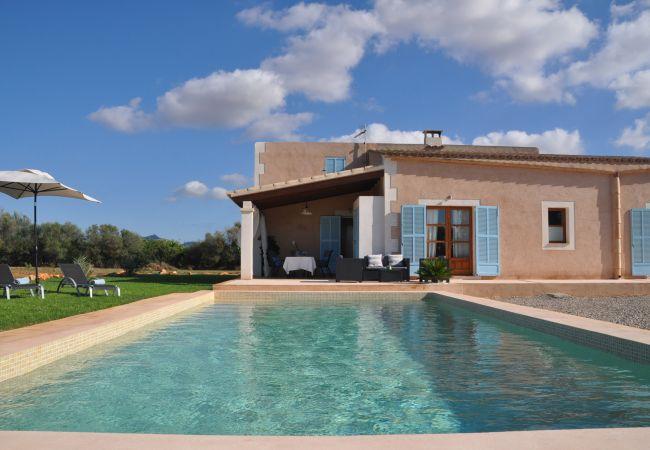 Sa Tanca Grand Ferienhaus mit privatem Pool in Felanitx