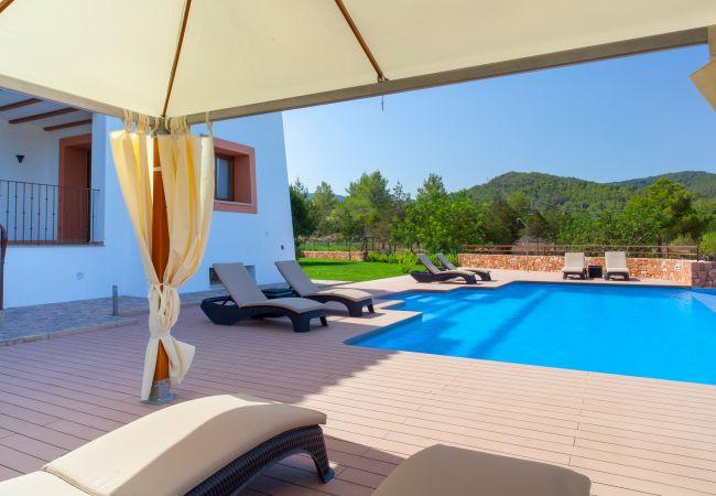 Ferienhaus VILLA BENIMUSA (1993168), San Rafael, Ibiza, Balearische Inseln, Spanien, Bild 4