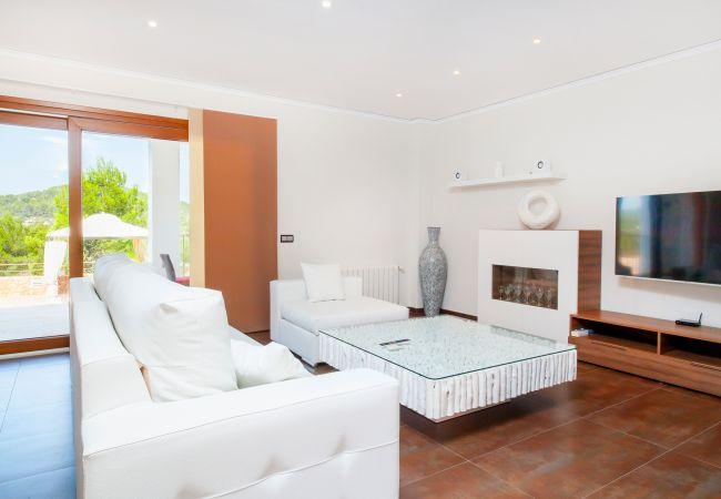 Ferienhaus VILLA BENIMUSA (1993168), San Rafael, Ibiza, Balearische Inseln, Spanien, Bild 11