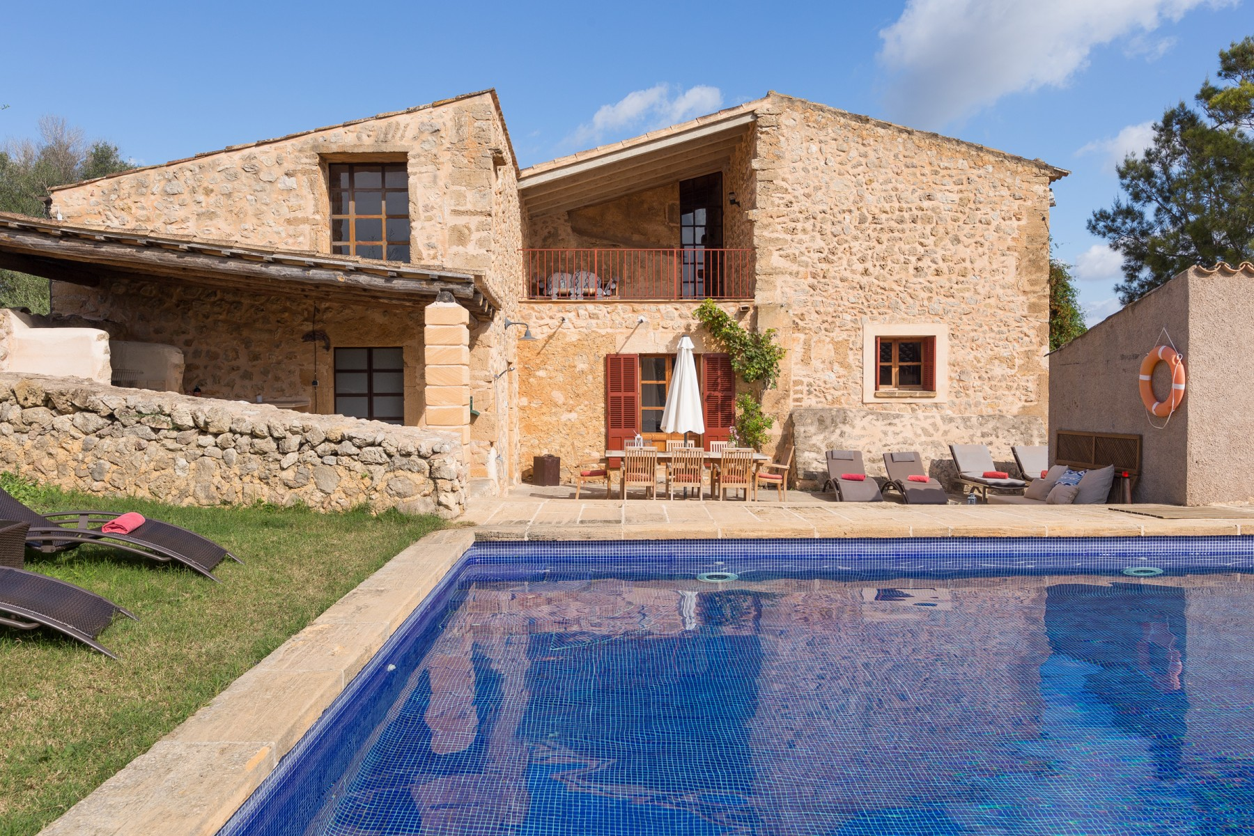 Son Pont for 8 guests in Sant Llorenc del Cardassar, Spanien