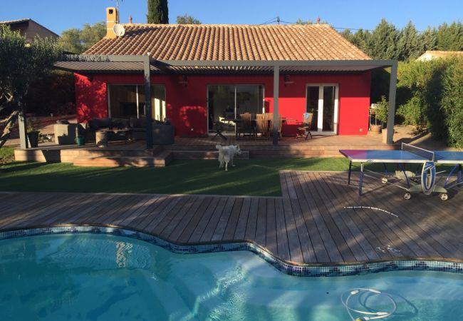 photo Magnifique villa contemporaine avec piscine au calme