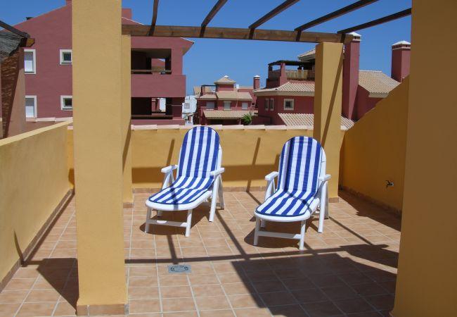 Maison de vacances Bungalow neben dem Pool, Terrasse und Terrasse, gratis WiFi, Sat-TV. (1993123), Mar de Cristal, Costa Calida, Murcie, Espagne, image 10