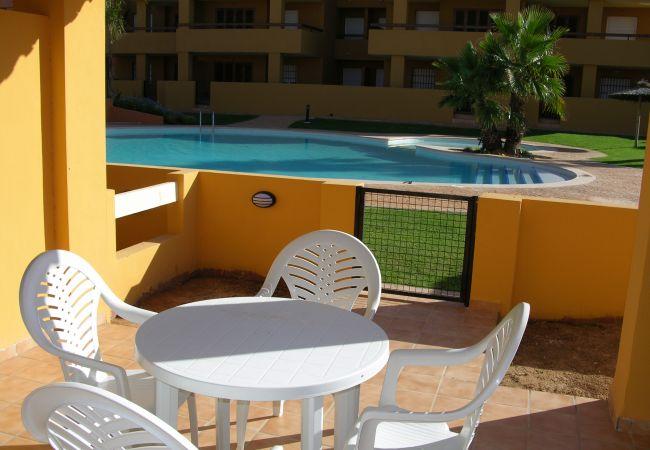 Maison de vacances Bungalow neben dem Pool, Terrasse und Terrasse, gratis WiFi, Sat-TV. (1993123), Mar de Cristal, Costa Calida, Murcie, Espagne, image 8