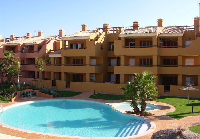 Maison de vacances Bungalow neben dem Pool, Terrasse und Terrasse, gratis WiFi, Sat-TV. (1993123), Mar de Cristal, Costa Calida, Murcie, Espagne, image 1