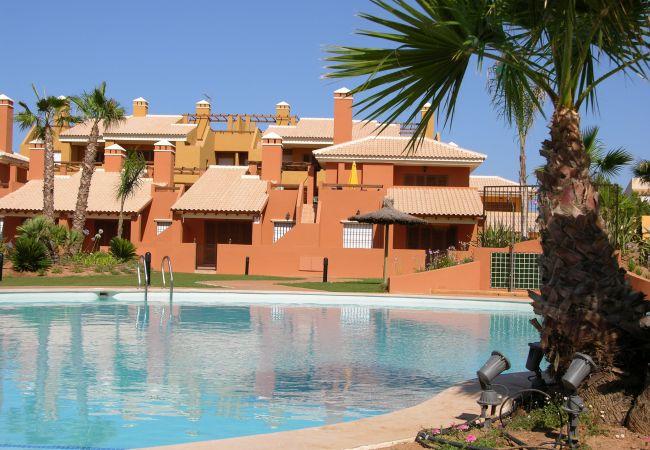 Maison de vacances Bungalow neben dem Pool, Terrasse und Terrasse, gratis WiFi, Sat-TV. (1993123), Mar de Cristal, Costa Calida, Murcie, Espagne, image 11
