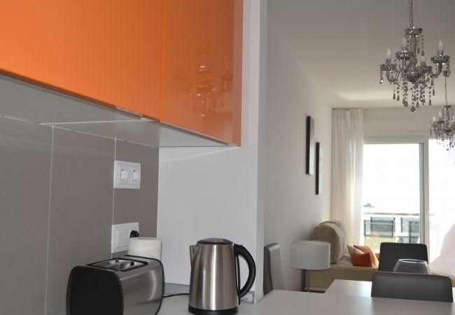 Appartement de vacances Wohnung im 1. Stock, Meerblick, gratis WiFi, Sat-TV. (1992732), La Manga del Mar Menor, Costa Calida, Murcie, Espagne, image 7