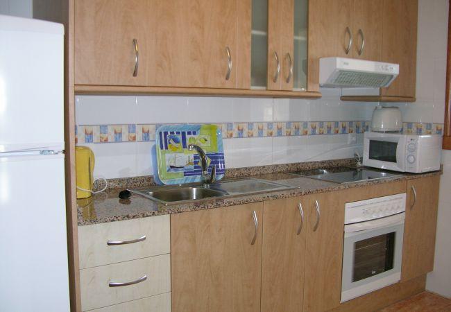 Appartement de vacances Familienapartment 6. Stock, Meerblick, Balkon, gratis WiFi (1992737), La Manga del Mar Menor, Costa Calida, Murcie, Espagne, image 6