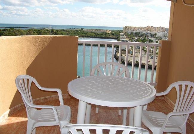Appartement de vacances Familienapartment 6. Stock, Meerblick, Balkon, gratis WiFi (1992737), La Manga del Mar Menor, Costa Calida, Murcie, Espagne, image 7