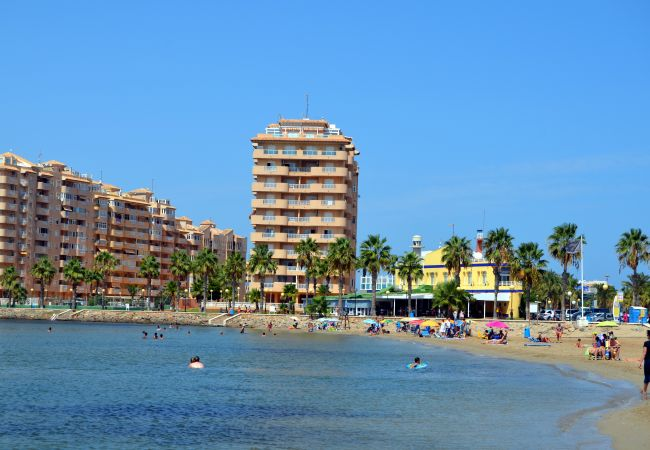 Appartement de vacances Familienapartment 6. Stock, Meerblick, Balkon, gratis WiFi (1992737), La Manga del Mar Menor, Costa Calida, Murcie, Espagne, image 12