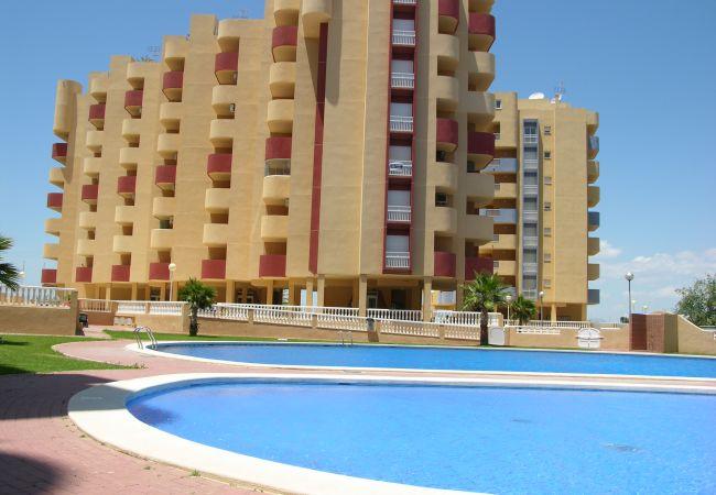 Appartement de vacances Familienapartment 6. Stock, Meerblick, Balkon, gratis WiFi (1992737), La Manga del Mar Menor, Costa Calida, Murcie, Espagne, image 1