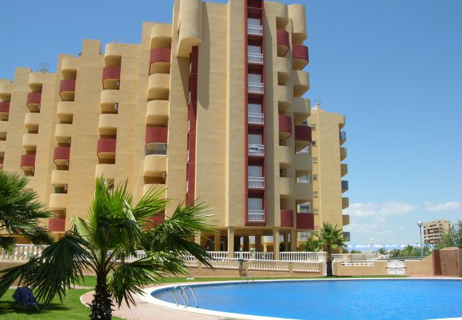 Appartement de vacances Familienapartment 6. Stock, Meerblick, Balkon, gratis WiFi (1992737), La Manga del Mar Menor, Costa Calida, Murcie, Espagne, image 10