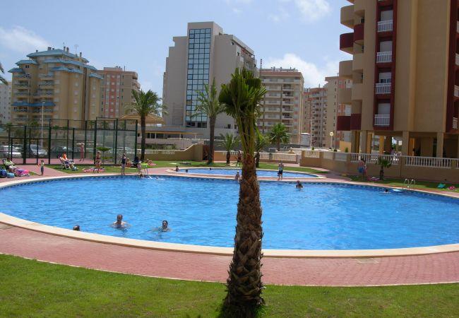 Appartement de vacances Familienapartment 6. Stock, Meerblick, Balkon, gratis WiFi (1992737), La Manga del Mar Menor, Costa Calida, Murcie, Espagne, image 11