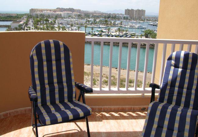 Appartement de vacances Apart. Familie 5. Stock, Meerblick, Balkon, Gemeinschaftspool, Paddel (1992736), La Manga del Mar Menor, Costa Calida, Murcie, Espagne, image 8