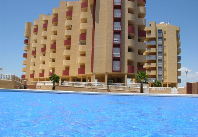 Appartement de vacances Apart. Familie 5. Stock, Meerblick, Balkon, Gemeinschaftspool, Paddel (1992736), La Manga del Mar Menor, Costa Calida, Murcie, Espagne, image 9