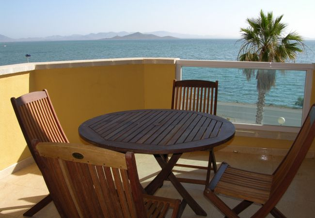 Appartement de vacances Apart. familie 2. stock, meerblick, gemeinschaftspool, strandnähe (1992739), La Manga del Mar Menor, Costa Calida, Murcie, Espagne, image 1