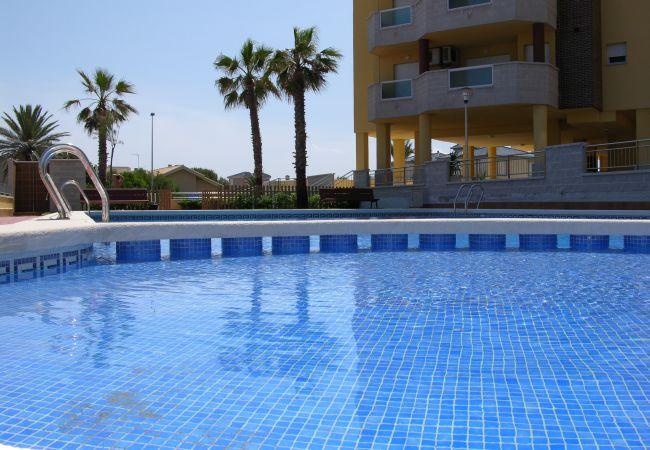 Appartement de vacances Apart. familie 2. stock, meerblick, gemeinschaftspool, strandnähe (1992739), La Manga del Mar Menor, Costa Calida, Murcie, Espagne, image 13