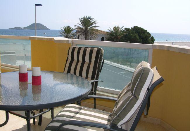 Appartement de vacances Apart. Familie 1. Stock, Meerblick, Gemeinschaftspool, nahe zum Strand (2286489), La Manga del Mar Menor, Costa Calida, Murcie, Espagne, image 5