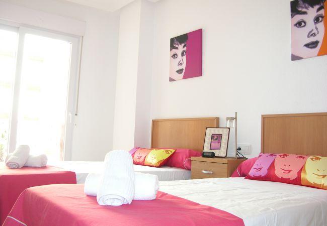 Appartement de vacances Apart. Familie 1. Stock, Meerblick, Gemeinschaftspool, nahe zum Strand (2286489), La Manga del Mar Menor, Costa Calida, Murcie, Espagne, image 7