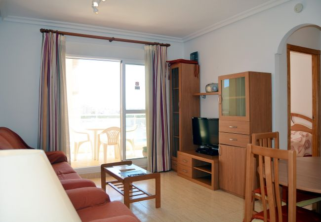 Appartement de vacances Wohnung mit Meerblick 4. Stock, Gemeinschaftspool, kostenloses Parken (1992740), La Manga del Mar Menor, Costa Calida, Murcie, Espagne, image 2