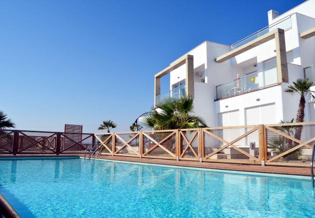 Appartement de vacances Wohnung im 1. Stock mit Meerblick, gratis WiFi, Gemeinschaftspool. (1992733), La Manga del Mar Menor, Costa Calida, Murcie, Espagne, image 3