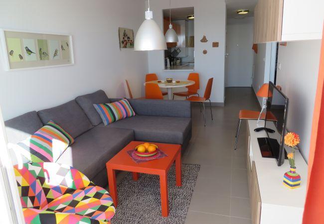 Appartement de vacances Wohnung im 1. Stock mit Meerblick, gratis WiFi, Gemeinschaftspool. (1992733), La Manga del Mar Menor, Costa Calida, Murcie, Espagne, image 11