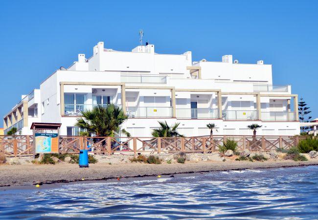 Appartement de vacances Wohnung im 1. Stock mit Meerblick, gratis WiFi, Gemeinschaftspool. (1992733), La Manga del Mar Menor, Costa Calida, Murcie, Espagne, image 6