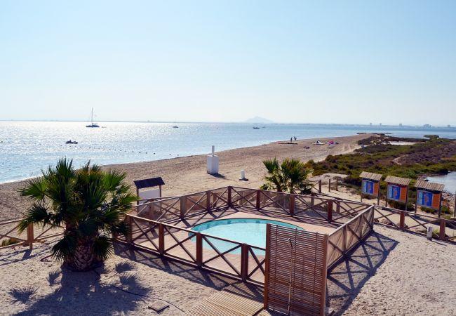 Appartement de vacances Wohnung im 1. Stock mit Meerblick, gratis WiFi, Gemeinschaftspool. (1992733), La Manga del Mar Menor, Costa Calida, Murcie, Espagne, image 4