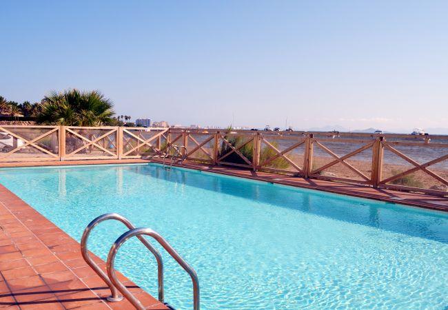 Appartement de vacances Wohnung im 1. Stock mit Meerblick, gratis WiFi, Gemeinschaftspool. (1992733), La Manga del Mar Menor, Costa Calida, Murcie, Espagne, image 5