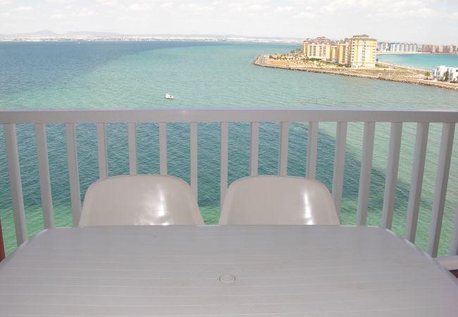 Appartement de vacances Apart. mit fantastischem Meerblick, gratis WiFi, Balkon, Gemeinschaftspool (1992742), La Manga del Mar Menor, Costa Calida, Murcie, Espagne, image 5