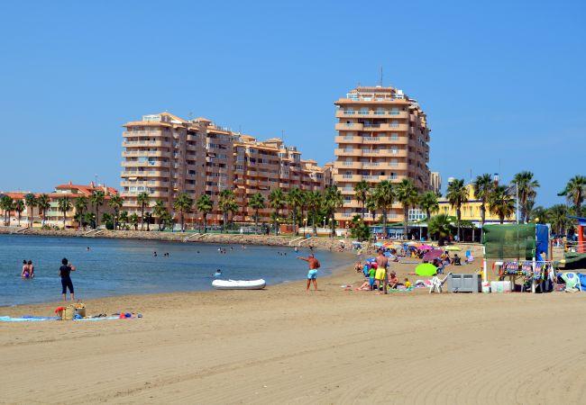 Appartement de vacances Apart. mit fantastischem Meerblick, gratis WiFi, Balkon, Gemeinschaftspool (1992742), La Manga del Mar Menor, Costa Calida, Murcie, Espagne, image 14