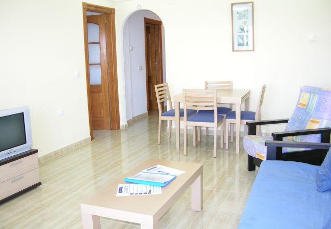 Appartement de vacances Apart. mit fantastischem Meerblick, gratis WiFi, Balkon, Gemeinschaftspool (1992742), La Manga del Mar Menor, Costa Calida, Murcie, Espagne, image 9