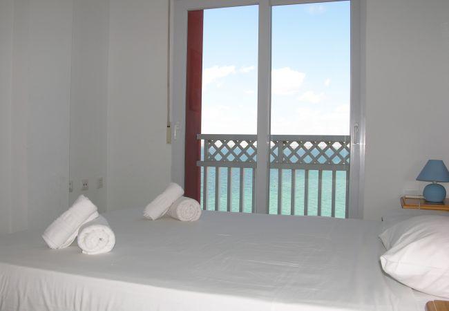 Appartement de vacances Apart. mit fantastischem Meerblick, gratis WiFi, Balkon, Gemeinschaftspool (1992742), La Manga del Mar Menor, Costa Calida, Murcie, Espagne, image 3