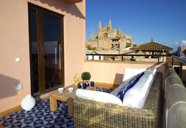 Amazing penthouse in Palma heart La Lonja Homes