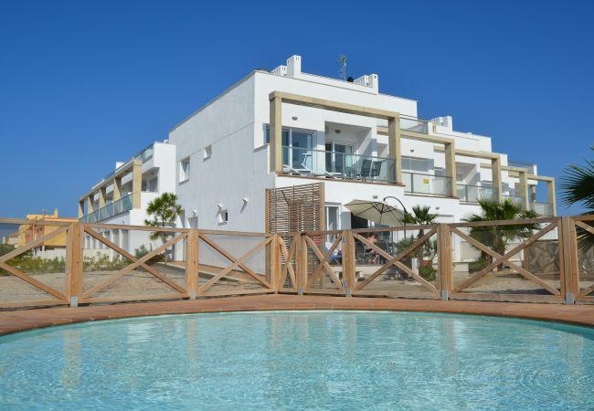 Appartement de vacances Apart. 1. Stock Meerblick, gratis WiFi, Grill, Gemeinschaftspool (1992746), La Manga del Mar Menor, Costa Calida, Murcie, Espagne, image 1