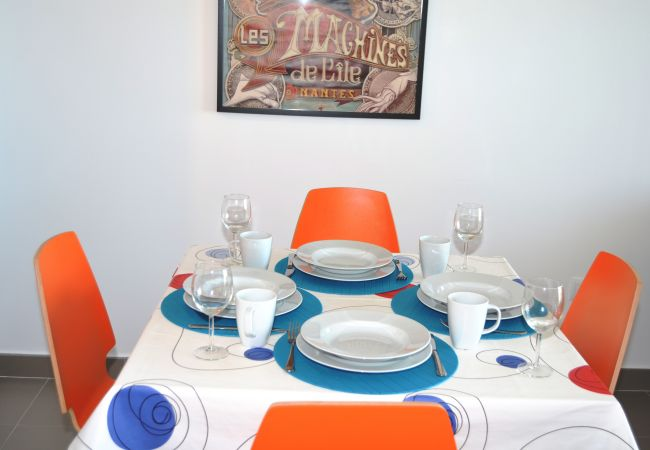 Appartement de vacances Apart. 1. Stock Meerblick, gratis WiFi, Grill, Gemeinschaftspool (1992746), La Manga del Mar Menor, Costa Calida, Murcie, Espagne, image 6