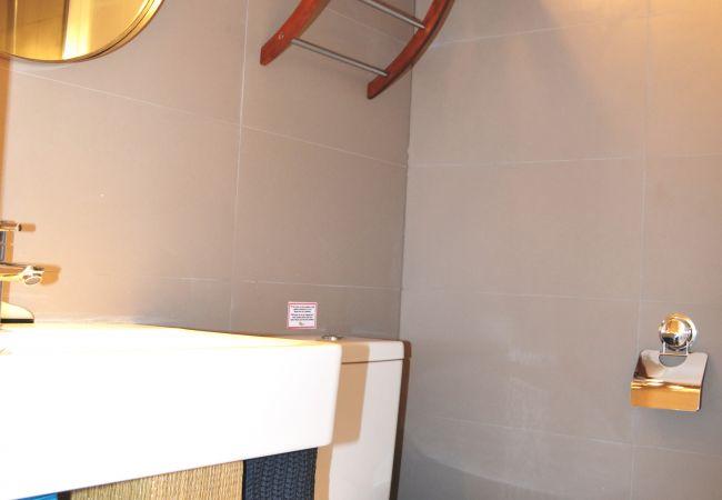 Appartement de vacances Apart. 1. Stock Meerblick, gratis WiFi, Grill, Gemeinschaftspool (1992746), La Manga del Mar Menor, Costa Calida, Murcie, Espagne, image 8
