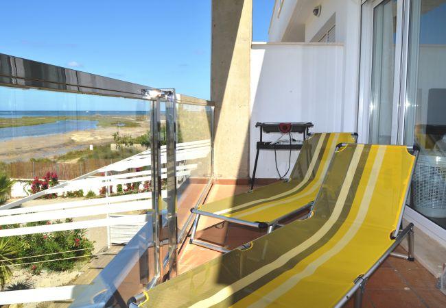 Appartement de vacances Apart. 1. Stock Meerblick, gratis WiFi, Grill, Gemeinschaftspool (1992746), La Manga del Mar Menor, Costa Calida, Murcie, Espagne, image 11